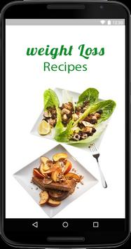 Weight Loss Recipes poster