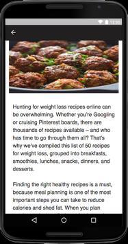 Weight Loss Recipes screenshot 2