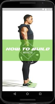 How To Build Muscle poster