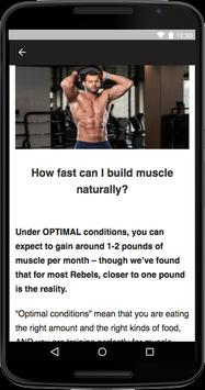 How To Build Muscle screenshot 2