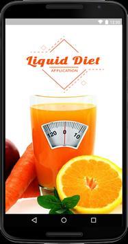Liquid Diet Guide - Clear Liquid Diet poster