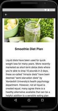 Liquid Diet Guide - Clear Liquid Diet apk screenshot