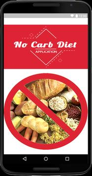 No Carb Diet poster
