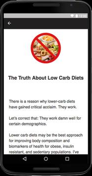 No Carb Diet apk screenshot
