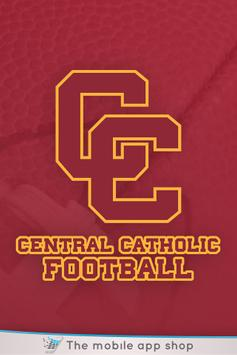 Central Catholic Football App. poster
