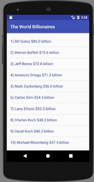The World Billionaires poster