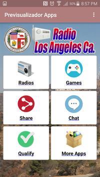 Radio Los Angeles California poster