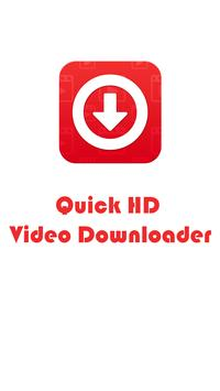Quick HD Video Downloader poster