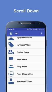 Video Download For Facebook apk screenshot