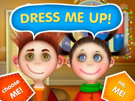 Guess the Dress (app for kids) poster
