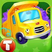 Cars in Gift Box (app 4 kids) icon