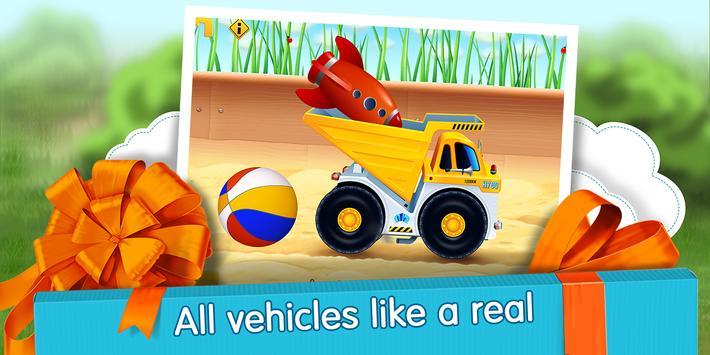 Cars in Gift Box (app 4 kids) apk screenshot