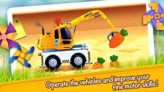 Cars in Sandbox (app 4 kids) screenshot 3