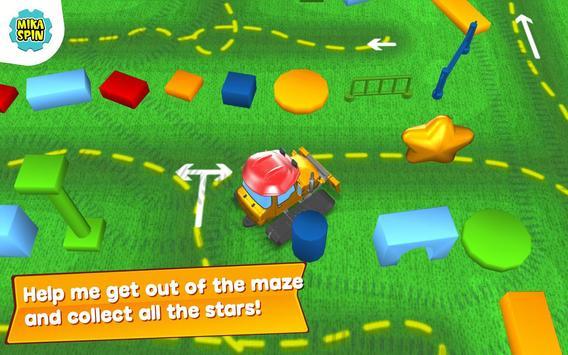 Children Small Dozer - kids games in sandbox town apk screenshot