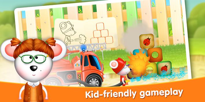 Firetrucks: rescue for kids apk screenshot