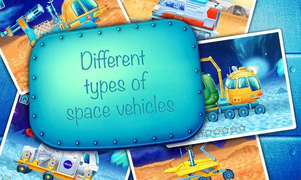 Space vehicles (app for kids) apk screenshot