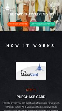 MaxxCard poster