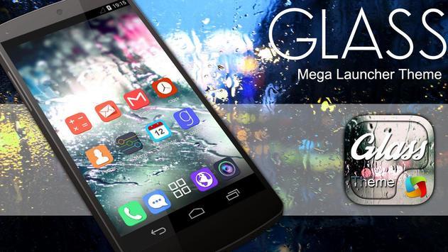 Mega Glass Theme poster