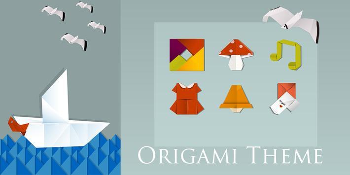 Origami Solo Theme poster