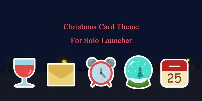 Christmas Card Theme poster