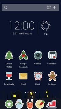 Christmas Card Theme screenshot 1