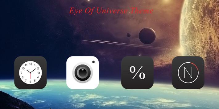 Eye Of Universe Theme poster
