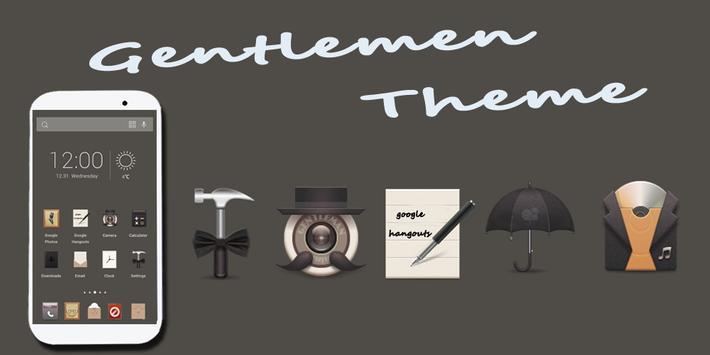 Gentlemen Solo Theme poster