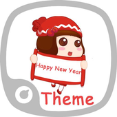 Happy New Year Theme icon