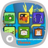 Indonesia Transportation Theme icon