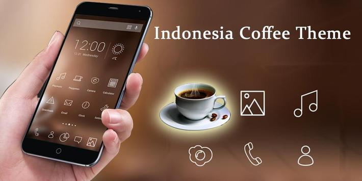 Indonesia Coffee Theme poster