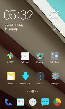 L Android Solo Theme apk screenshot