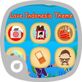Love Indonesia Theme icon