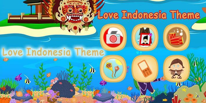 Love Indonesia Theme poster