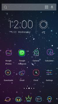 Purple Sky Theme screenshot 1