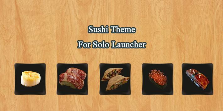 Sushi Solo Theme poster