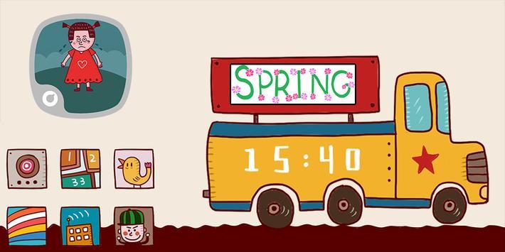 Spring Solo Theme poster