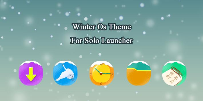 Winter OS Theme poster