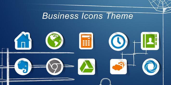 Business Icons-Solo Theme poster
