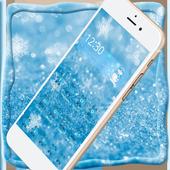 Ice Frozen Snow Xmas Theme icon