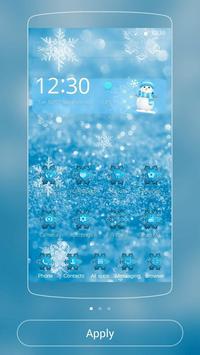 Ice Frozen Snow Xmas Theme poster