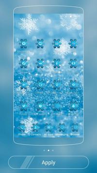 Ice Frozen Snow Xmas Theme apk screenshot