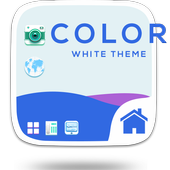 Colorful White Theme icon