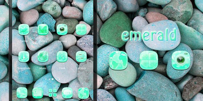 Emerald Solo Theme poster