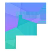 Blue Flatter - CM 11 Theme icon