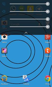 Blue Flatter - CM 11 Theme apk screenshot