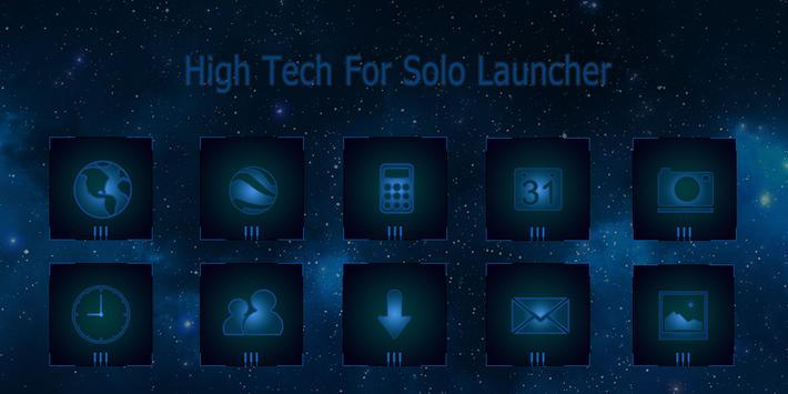 High tech-Solo Theme poster