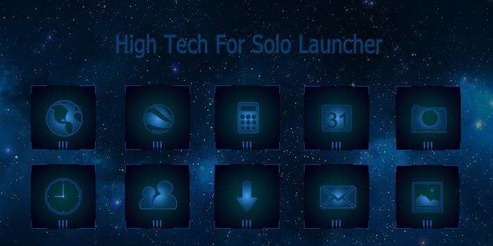 High tech-Solo Theme poster
