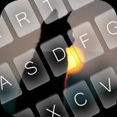 Kitten Sunset Keyboard Theme icon