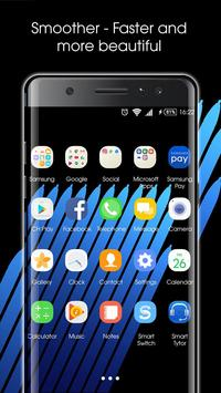 Note 7 Launcher – Note 7 Theme poster