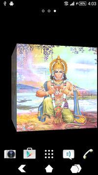 Hanuman Ji Cube Live Wallpaper poster